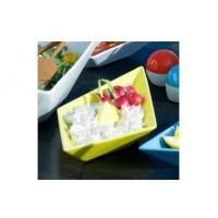 Assiette Bateau de papier jaune