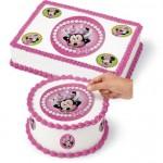Feuille de sucre Minnie Mouse