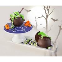 Démonstration Cupcake Marmite de sorcière en chocolat