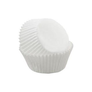 Moule en papier à cupcake / muffin Blanc