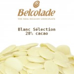 Chocolat blanc Belcolade - Blanc Sélection 28%