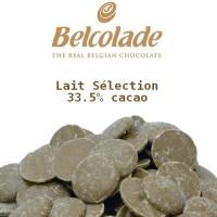 Chocolat au lait Belcolade - Lait Sélection 33.5%