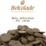 Chocolat noir Belcolade - Noir Sélection 55%
