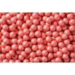 Perle chocolatée 10 mm - Corail perlé