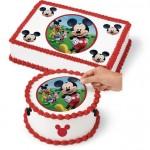 Feuille de sucre Mickey Mouse