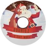 Feuille imprimée et boitier CD - Souriez, c'est Noël !