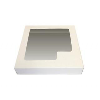 Boite blanche fenêtre carrée