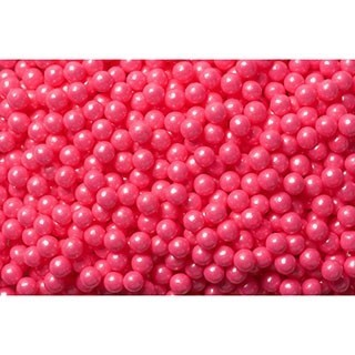Perle rose 7 mm