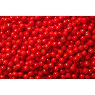 Perle rouge 7 mm