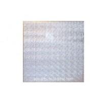 """Carton plateau carré argenté 22 x 0.5"""""""