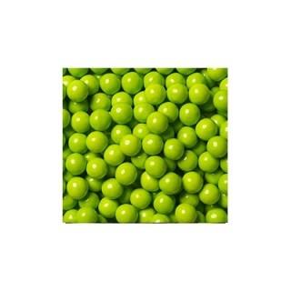 Perle chocolatée 10 mm - Lime