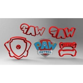 Découpoirs Logo Pat Patrouille Deluxe 3''