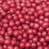 Perle chocolatée croustillante - Rouge