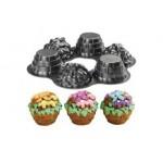 Moule Mini panier à fleurs
