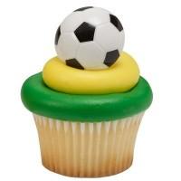 Bague Ballon de soccer 3-D