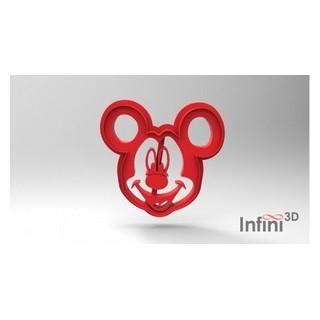 Découpoir et embosseur Mickey Mouse 3''