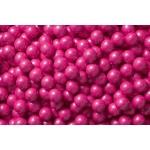 Perle chocolatée 10 mm - Rose perlé