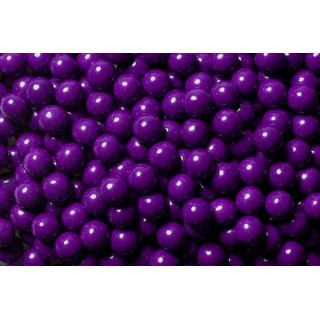 Perle chocolatée 10 mm - Violet foncé