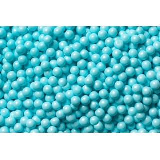 Perle 7mm - Bleu pâle mât