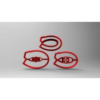 Découpoir Logo Canadien de Montréal Deluxe 1.75''