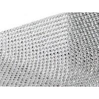 "Ruban Diamant Étincelant Argent 4.75"""