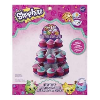 Présentoir à cupcakes Les Shopkins