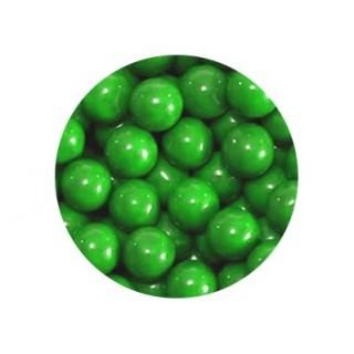 Perle chocolatée 10 mm - Vert foncé