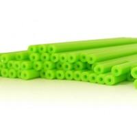 Baton en plastique rigide - Vert lime