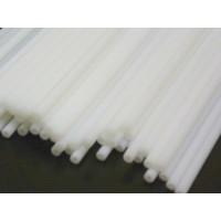 Baton en plastique rigide - Blanc