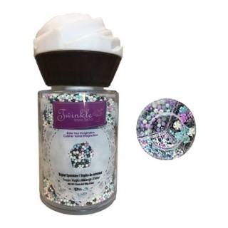 Sucre et perles à parsemer - Assortiment Reine des neiges