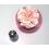 Grande douille sphère Ruban floral AAT114