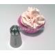 Grande douille sphère Ruban floral AAT110
