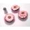 Grande douille sphère Ruban floral AAT102