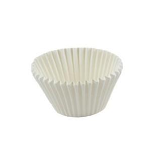 Mini moule en papier Blanc