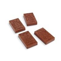 Moule à chocolat Barre Sage et Vilain