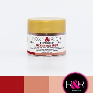 Poudre Fondust - Rouge brique