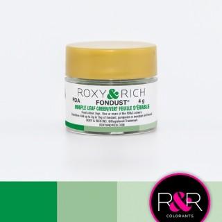 Poudre Fondust - Vert feuille d'érable