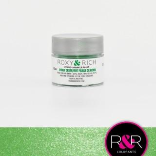 Poudre étincelante hybride - Vert feuille de houx