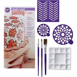 Ensemble d'apprentissage Peinture sur gâteaux