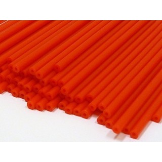 Baton en plastique rigide - Rouge