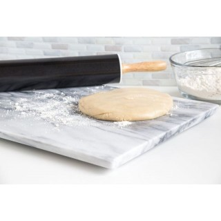 Planche à pâtisserie en marbre blanc