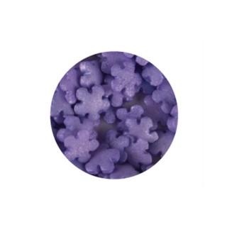 Décorette - Fleur violet lustré