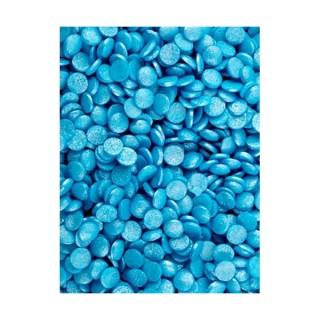 Mini confetti Bleu lustré