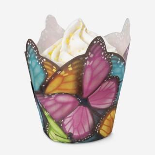 Moule en papier Papillons