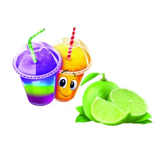 Sirop pour barbotine ( slush ) - Lime