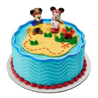 Figurines Mickey et Minnie Course au trésor