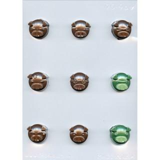 Moule à chocolat Emoji cochon