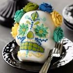 Moule à gâteau Petite tête de mort 3-D