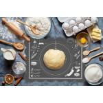Tapis à pâtisserie / fondant en silicone