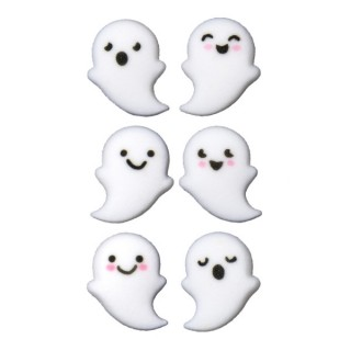 Mignons fantômes en sucre